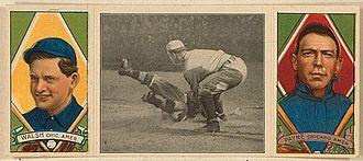 Fred Payne (baseball) - Fred Payne, Hassan triple folder baseball card
