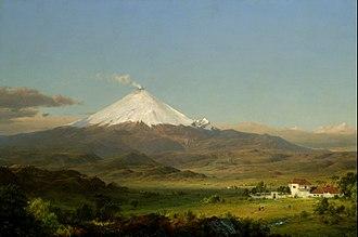 Frederic Edwin Church - Cotopaxi, 1855