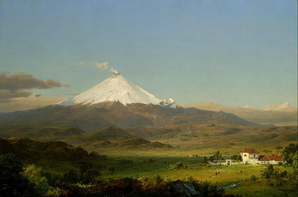 Frederic Edwin Church - Cotopaxi - Google Art Project (549119)