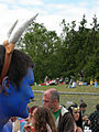 Fremont Solstice Parade 2007 - Gasworks - Babe the blue ox 02.jpg