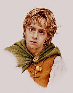 Frodo Baggins (concepção artística do Mark Ferrari, 1987)