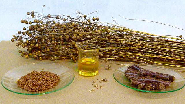 image of flaxseed oil