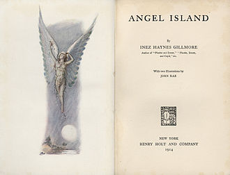 Angel Island (novel) - Frontispiece for the 1914 edition