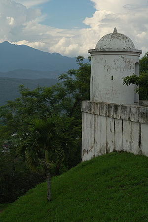 History of Honduras - The Fortress of San Cristobal in Gracias.