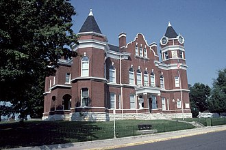 Hickman, Kentucky - Fulton County Courthouse in Hickman