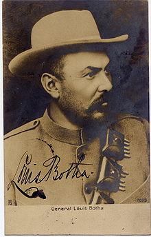 Général Botha, dédicassé