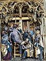 Güstrow Marienkirche - Hochaltar Passionszyklus 8 Kreuzabnahme.jpg