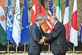 G7 Taormina Paolo Gentiloni José Ángel Gurría handshake 2017-05-27.jpg