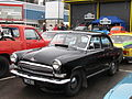 "GAZ-21 ""Volga"" (black colored) in Lahti motor show, Finland.jpg"