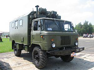 GAZ-66 - GAZ-66 box truck