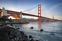Le pont du Golden Gate.