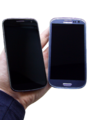 Galaxy Nexus and Galaxy S III side by side.PNG