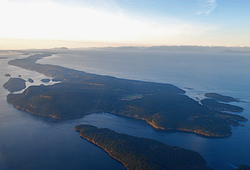 Galiano Island and the Salish Sea
