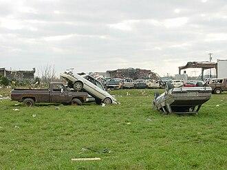 Tornado outbreak of April 6–8, 2006 - Image: Gallatintornado 1