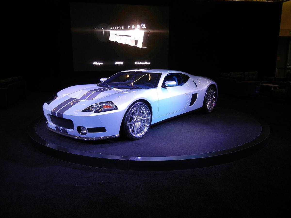 Build A Ford >> Galpin GTR1 - Wikipedia