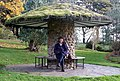 Garden seat at Threave, near Castle Douglas - geograph.org.uk - 1586455.jpg