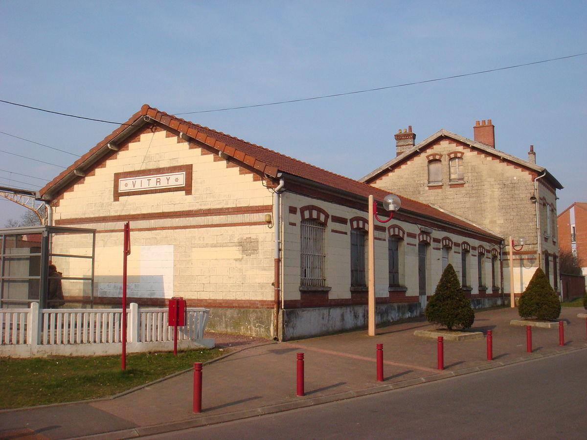Gare de vitry en artois wikip dia for Aquatis vitry en artois