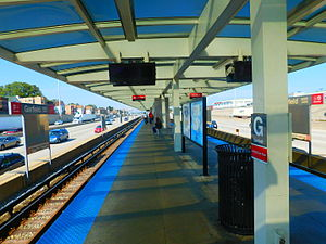 Garfield station (CTA Red Line) - Image: Garfield Boulevard Station