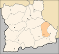 Garmen Municipality Blagoevgrad Oblast map.png