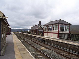 Garsdale railway station Railway station in Cumbria, UK