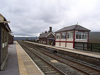 Garsdale railway station - Garsdale railway station