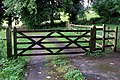 Gates, Minnowburn Path - geograph.org.uk - 1407371.jpg