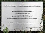 Gedenktafel Treskowallee 129 (Karlh) Reiterdenkmal&Willibald Fritsch&1925.jpg