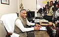 General (Retd.) V.K. Singh taking charge as the Minister of State (Independent Charge) for Development of North Eastern Region, in New Delhi on May 29, 2014.jpg