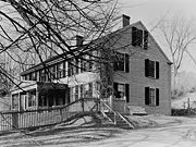 Birthplace of General Benjamin Lincoln in Hingham, Massachusetts. Photo from 1936.