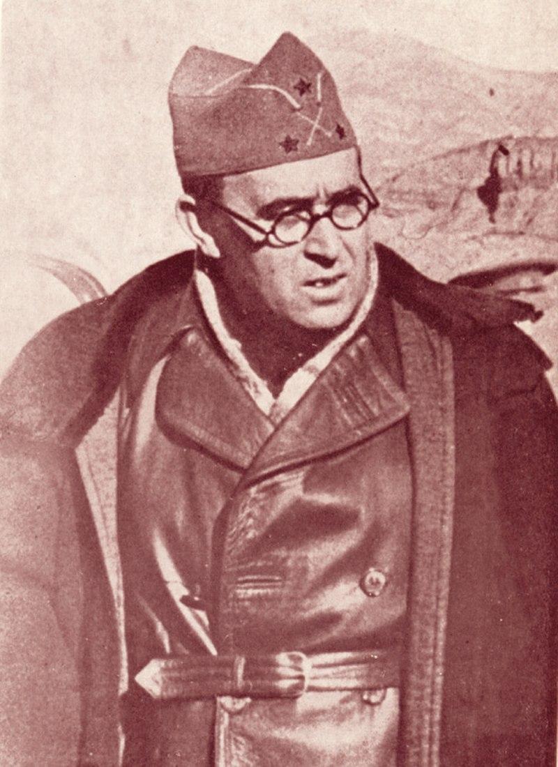 Retrato de Vicente Rojo Lluch.