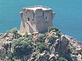 Genoese tower, Gulf of Porto, Corsica, France.jpg