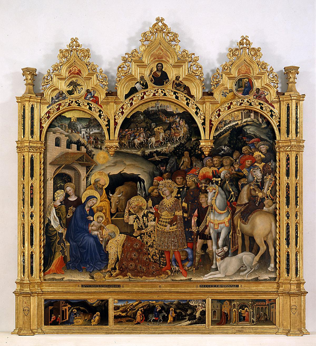 Galeria Stl: L'Adoration Des Mages (Gentile Da Fabriano)