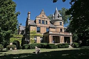 George B. Cox - Cox's house