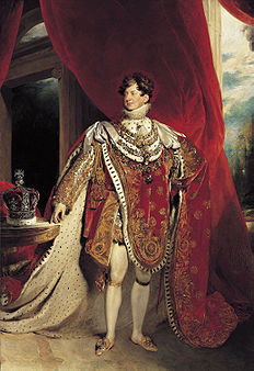 George IV, 'n skildery deur sir Thomas Lawrence (1822).