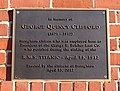 George Quincy Clifford marker, perished on the RMS Titanic, 1912 - Stoughton, Massachusetts - DSC01813.jpg