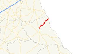 Georgia State Route 368 - Image: Georgia state route 368 map