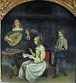 Gerard ter borch, concerto con cantante e suonatrice di liuto, 1657 ca. 02.JPG