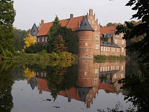 Vest Recklinghausen - Castle Herten, former residence of the governor of Vest Recklinghausen