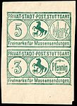 Germany Stuttgart 1888 local receipt stamp 3Pfg - 58 unused.jpg