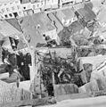 Gezicht vanuit toren boven op de gewelven van de kapel noordelijk van de toren. - Bergen op Zoom - 20032686 - RCE.jpg