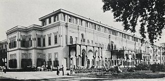 Gezirah Palace - Ghezireh Palace, Zamalek district, Gezira Island, Cairo (1906 - as Hotel)