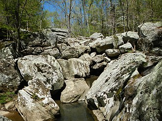 Dixon Springs State Park - Ghost Dance Canyon, Dixon Springs State Park, April 2014