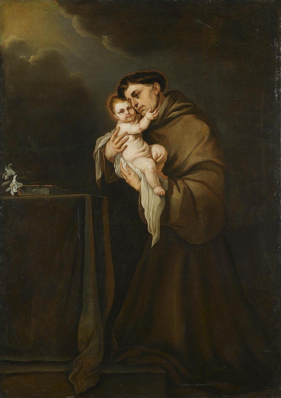 Giacomo Farelli - Sant'Antonio da Padova con Gesù Bambino