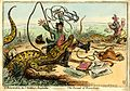 Gillray - L'Insurrection de l'Institut Amphibie - The Pursuit of Knowledge.jpg