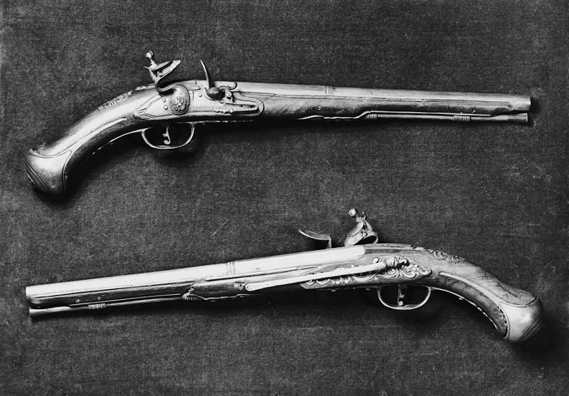 File:Giovanni Catane - Pair of Flintlock Belt Pistols - Walters 511347, 511348.jpg