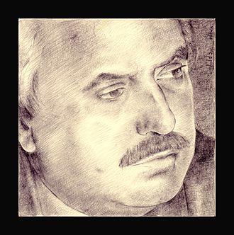 Giovanni Falcone - Antimafia prosecutor Giovanni Falcone in a drawing
