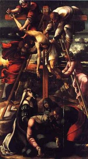 Giovanni del Giglio - Giovanni del Giglio, Deposizione (Ozieri)