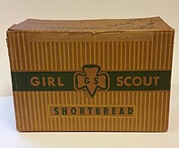 Girl Scout Shortbread Cookie Box