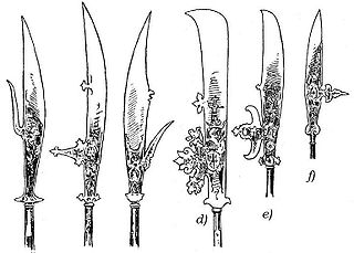 Glaive Type of pole weapon