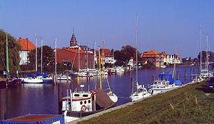 Glückstadt - Northside of Glückstadt harbour